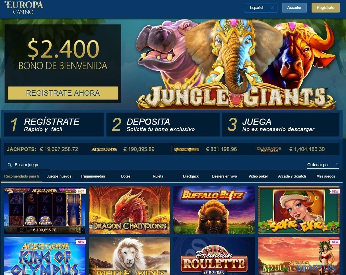 Europa Casino Serios